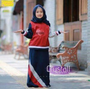 Baju Set Gamis Anak