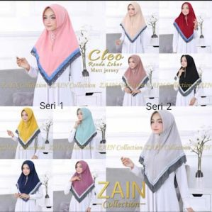 Jilbab Bergo Cleo Ori Zain Collection