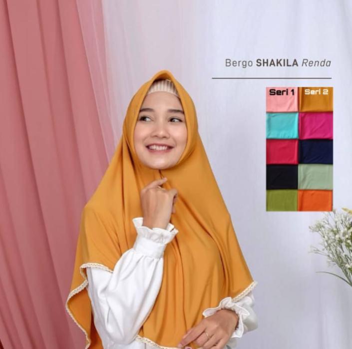 Hijab Bergo  Instan Murah
