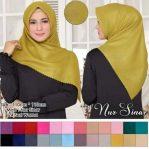 Hijab Segiempat Azara Polos