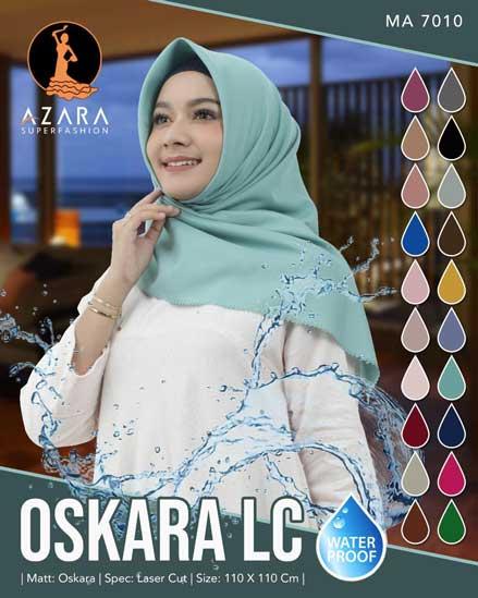 Hijab Segi Empat Waterproof