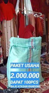 Paket Usaha Baju Serba 20 rb