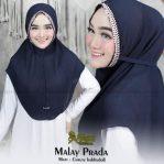 Bergo Maryam Malay Plisket