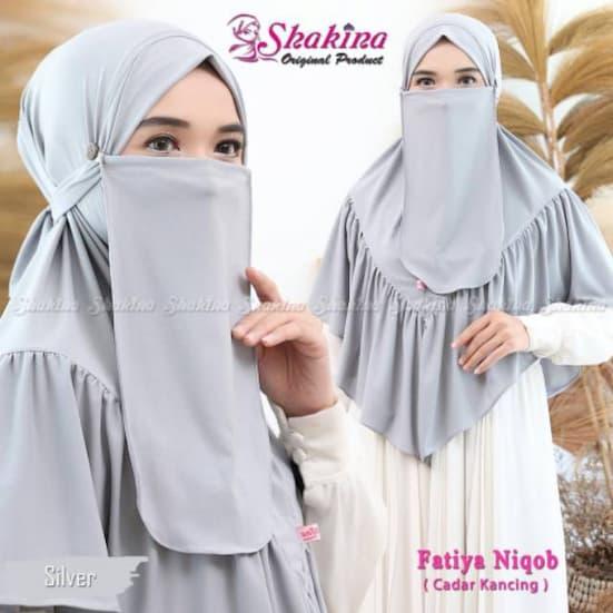 Khimar Instan Fatiya Niqob Original Shakira