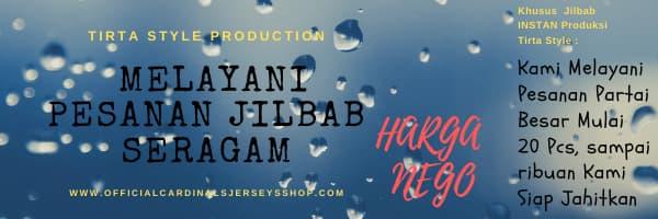 Grosir Jilbab Murah Surabaya Tirta Style Grup – 10 Ribuan !!!